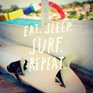 eat-sleep-surf, smoothies, fruits, nuts, surfing pre-meal